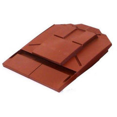 Ubbink UB8 In-line Plain Tile Vent - Red