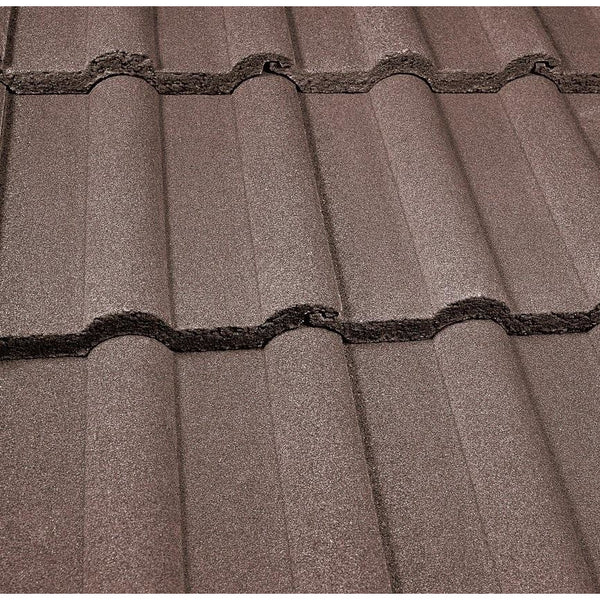 Marley Double Roman Roof Tile Antique Brown Roofing Outlet