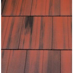 Marley Duo Edgemere Interlocking Slate - Old English Dark Red