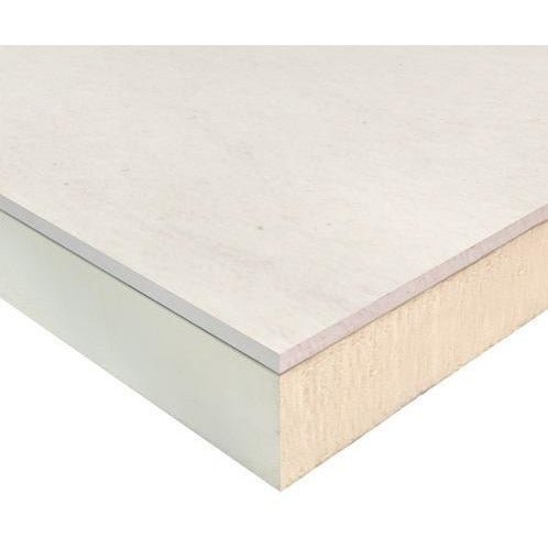 Ecotherm Insulated Plasterboard Eco-Liner PIR - 37.5mm (25mm PIR Insulation + 12.5mm Plasterboard)