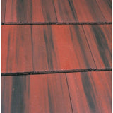 Marley Edgemere Interlocking Slate - Old English Dark Red