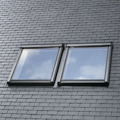 VELUX EBL 0021B Twin Flashing for Slate (18mm gap)