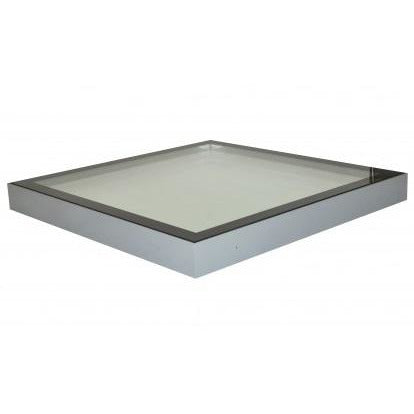Whitesales Em-Glaze Flat Glass Rooflight Top Cover Only - To Suit Builders Upstand