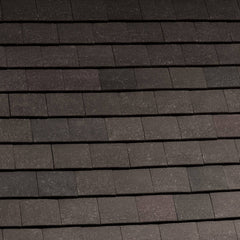 Marley Acme Single Camber Plain Roof Tile - Grey Sandfaced