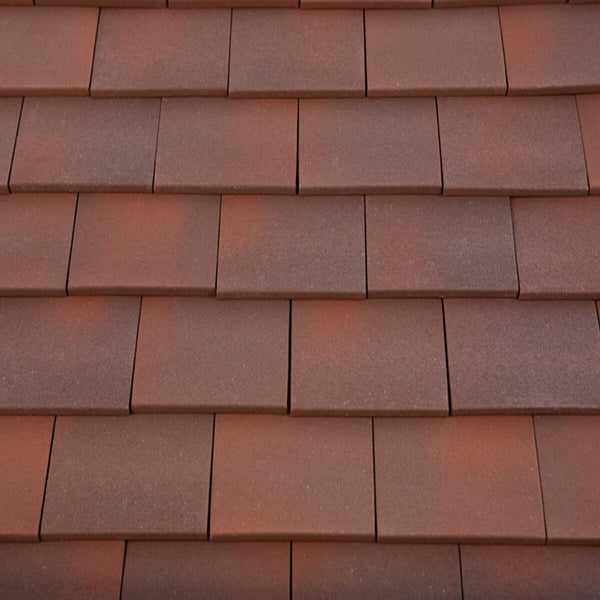 Marley Acme Single Camber Plain Roof Tile Heather Blend