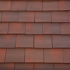 Marley Acme Single Camber Plain Roof Tile - Heather Blend