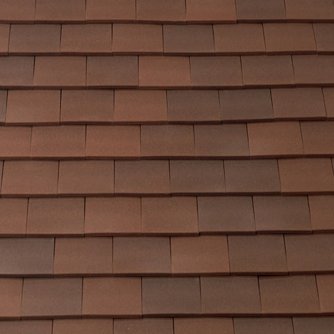 Marley Acme Single Camber Plain Roof Tile - Heather Sandfaced