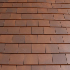 Marley Acme Single Camber Plain Roof Tile - Mixed Brindle