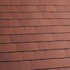 Marley Acme Single Camber Plain Roof Tile - Red Sandfaced