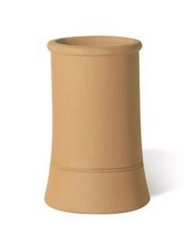 Redbank Buff Roll Top Chimney Pot - 450mm