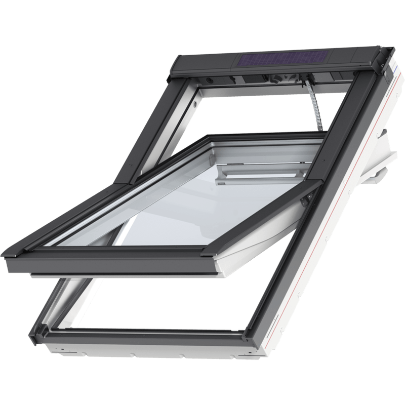 VELUX GGU PK08 007030 White INTEGRA® SOLAR Window (94 x 140 cm)