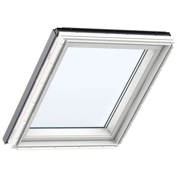 VELUX GIU PK34 0068 Triple Glazed White Polyurethane Fixed Element (94 x 92cm)