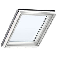 VELUX GIU PK34 0066 Triple Glazed White Polyurethane Fixed Element (94 x 92cm)
