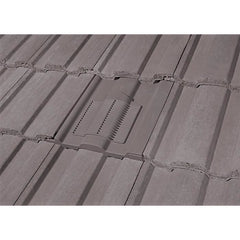 Marley Ludlow Major Tile Vent - Smooth Grey