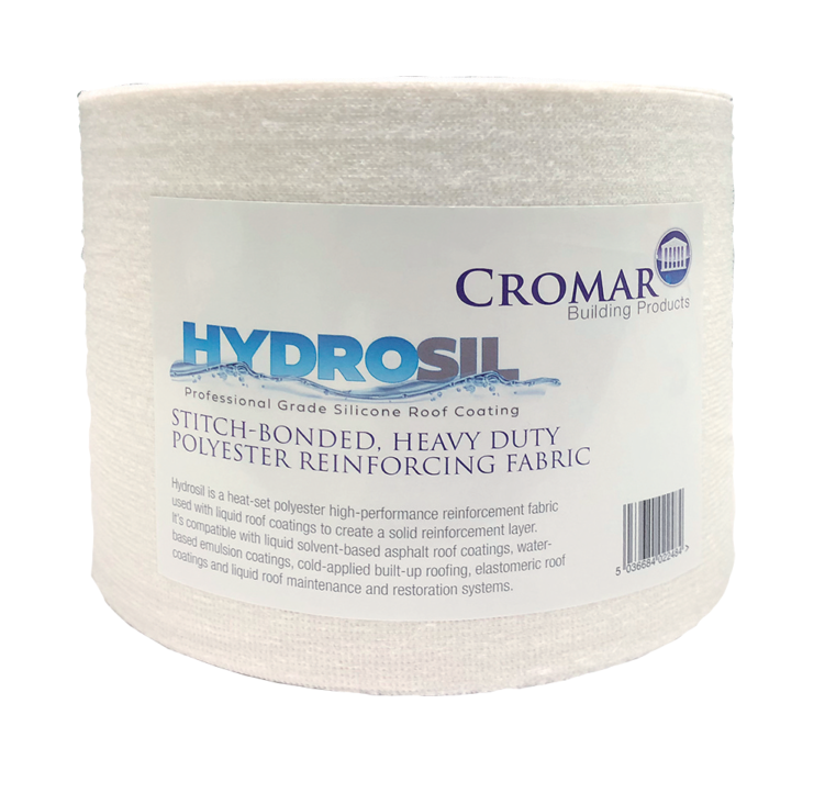 Cromar Hydrosil Heavy Duty Reinforcement Roll (Polyester Fabric) 100mm x 10m