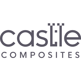Castle Composites Twice Weathered Coping Stones 600 x 375mm - Dark Grey