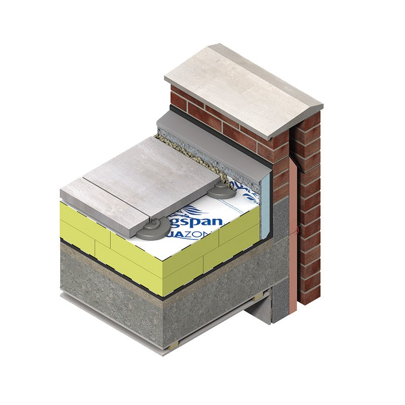 Kingspan GreenGuard GG300 R Extruded Polystyrene Insulation - 1250mm x 600mm x 100mm