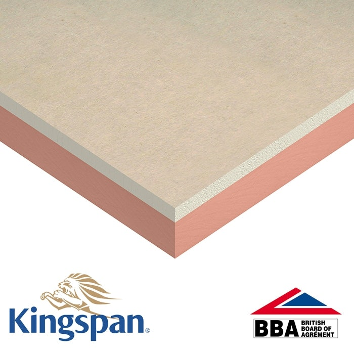 Kingspan Kooltherm K118 Insulated Plasterboard - 37.5mm