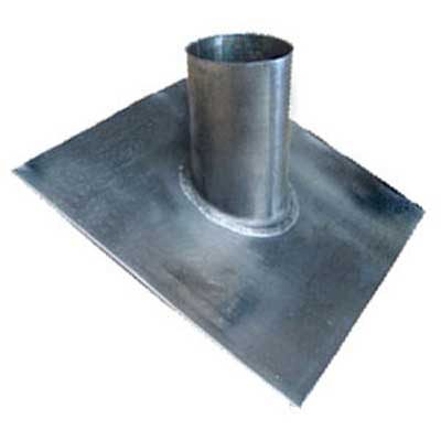 Lead Slate Pipe Flashing Pitched- 100mm