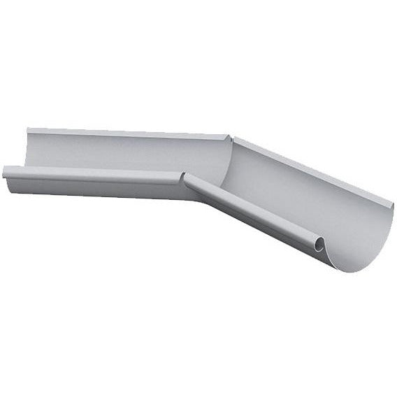 Lindab Majestic Galvanised Steel External 135° Gutter Angle