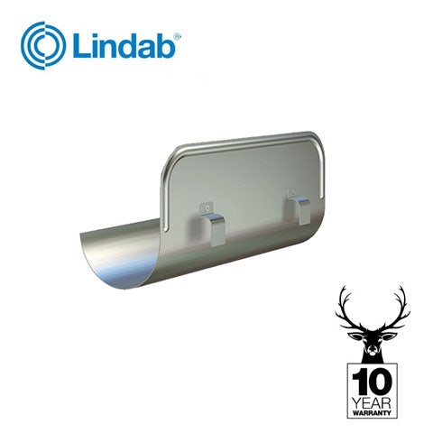 Lindab Majestic Galvanised Steel Straight Overflow Protector