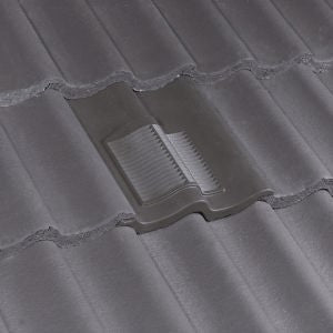 Klober Profile Line 174 Double Pantile Vent Brown Roofing
