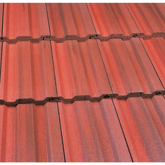 Marley Ludlow Plus Roof Tile - Old English Dark Red