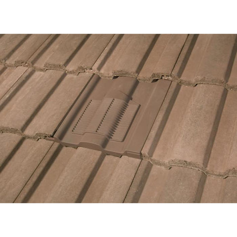 Redland Renown Tile Vent Brown Roofing Outlet