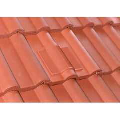 Redland Double Roman Tile Vent - Red