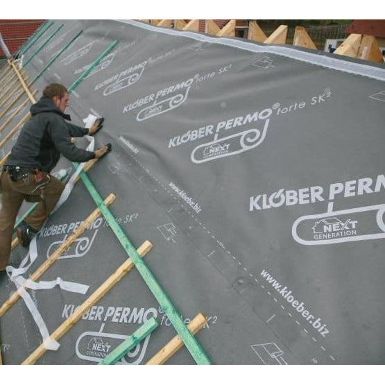 Klober Permo Forte Breathable Membrane 1.5m x 50m (75m2 roll)