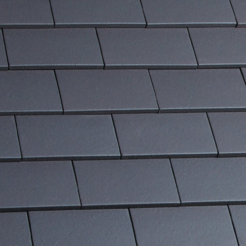 Marley Hawkins Clay Plain Roof Tile - Blue Smooth