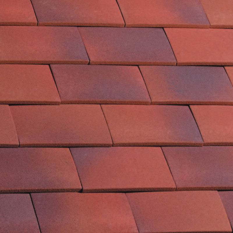 Marley Hawkins Clay Plain Tile - Dark Heather