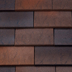 Marley Hawkins Clay Plain Tile - Fired Sienna
