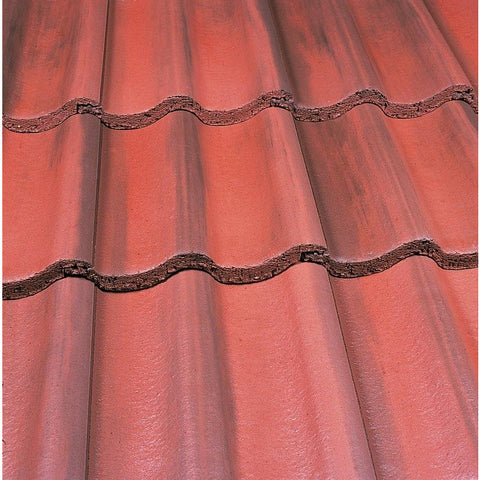 Marley Mendip Roof Tile - Old English Dark Red