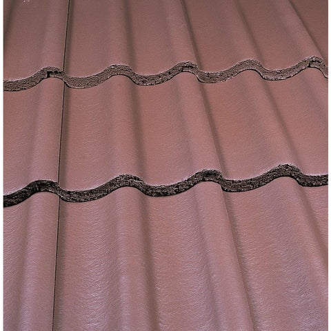 Marley Mendip Roof Tile - Smooth Brown