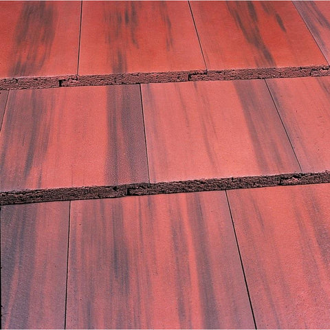 Marley Modern Roof Tile Old English Dark Red Roofing