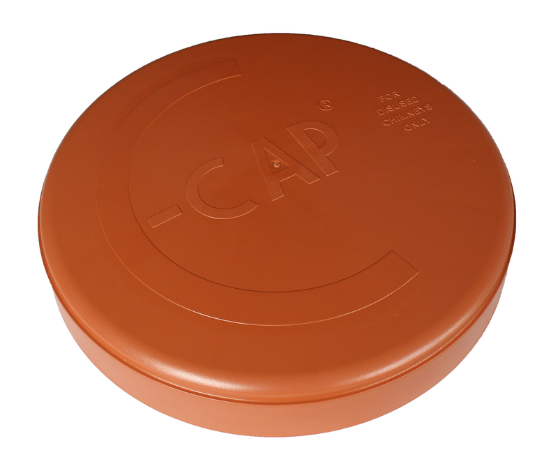 C-Cap Terracotta Chimney Cowl - 300mm for Standard Pots