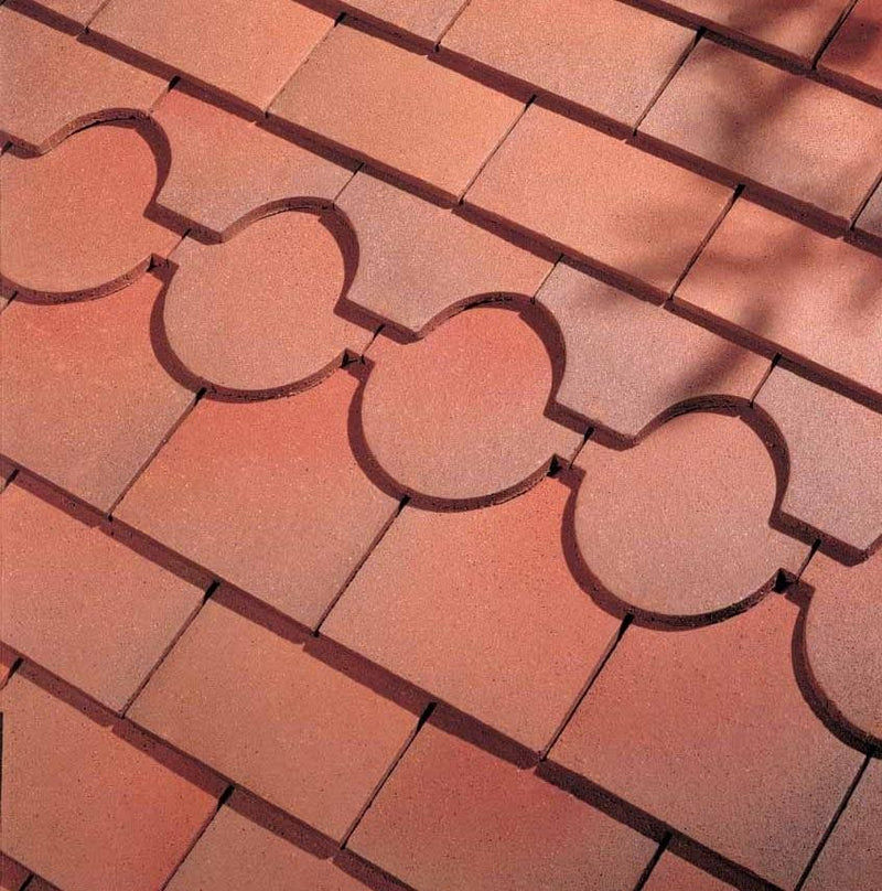 Dreadnought Clay Plain Roof Tiles - Country Brown (sandfaced)