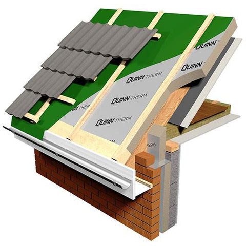 Quinn Therm Pir Insulation Board 2400 X 1200mm Roofing