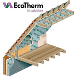 EcoTherm Ecoversal PIR Roof Insulation - 2400 x 1200mm