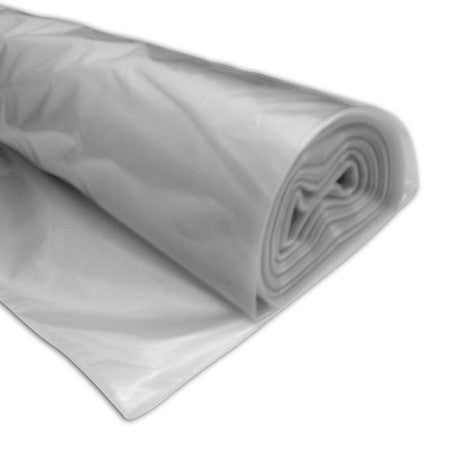 Temporary Polythene Sheeting 250 gauge - 4m x 25m Roll