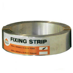 Stainless Steel Fixing Strip for Lead (50mm x 20m Roll)