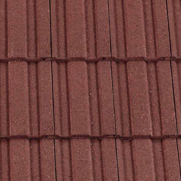Redland 49 Roof Tile - Antique Red