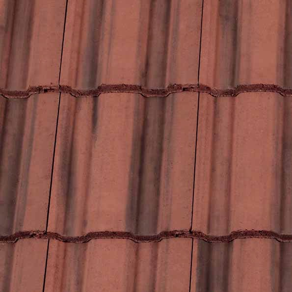 Redland Renown Roof Tiles - Farmhouse Red