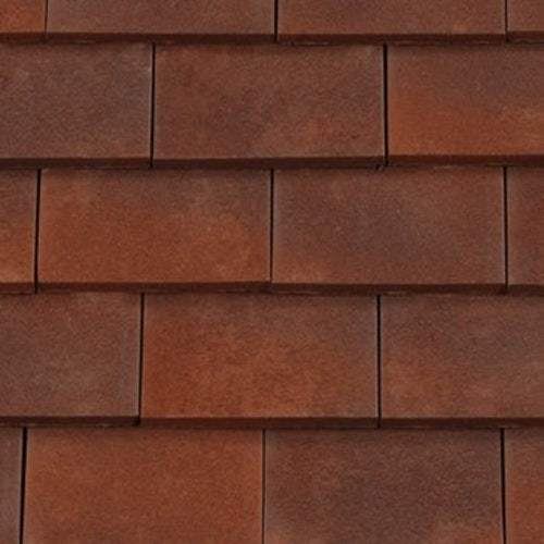Redland Rosemary Clay Plain Roof Tile - Heather Brindle