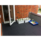 Castle Composites Castleflex Rubber Promenade Tiles (All Colours)