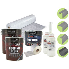 Cromar PRO 25 GRP - Complete Flat Roof Extension Kit (including Trims)