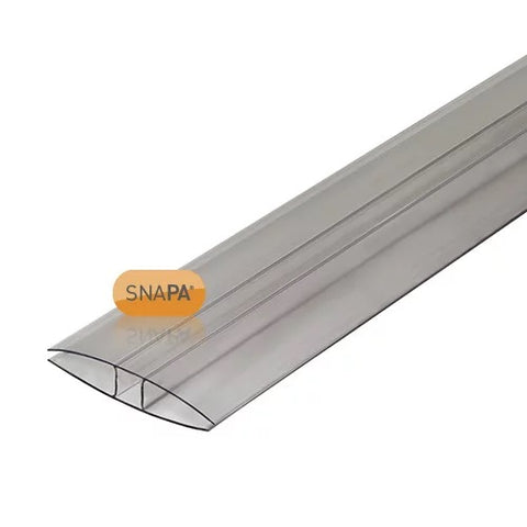 SNAPA® Clear Polycarbonate H Section