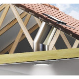 "VELUX TWR 0K14 2010 - 14"" Rigid Sun Tunnel for Tiles"