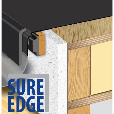 Sure Edge 2 Part Gutter Drip Trim - 2.5 mtr